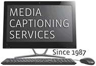 Media Captioning Services